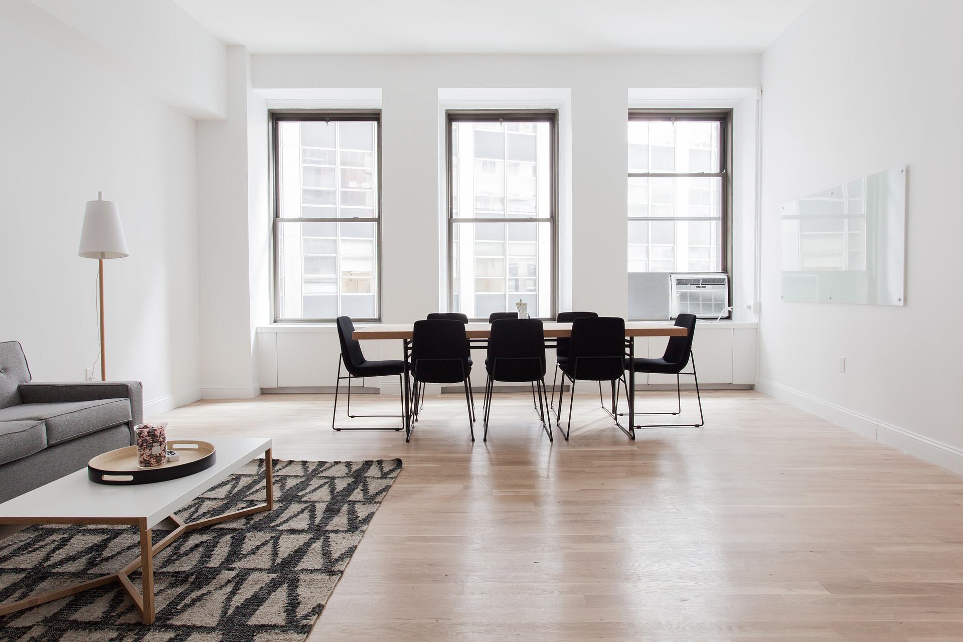 Projekt med att lägga golv i hemmet